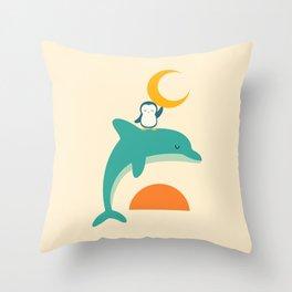 Cherish Time Throw Pillow