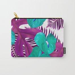 Anthurium purple Carry-All Pouch