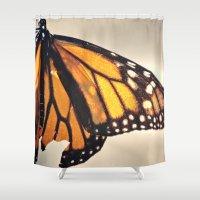 broken Shower Curtains featuring Broken  by Kate Kendrick