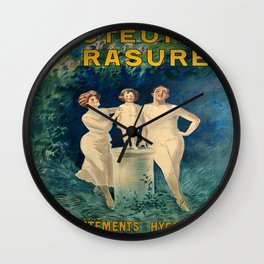 Vintage poster - Docteur Rasurel Wall Clock