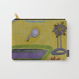 The Yellow Bathroom Carry-All Pouch