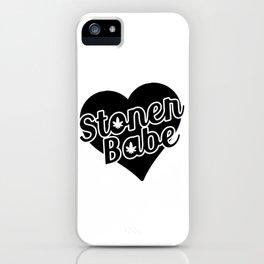 Stoner Babe iPhone Case