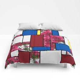 Crape Myrtle Art Rectangles 4 Comforters
