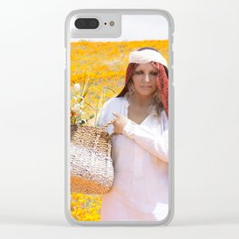 The Gatherer Clear iPhone Case