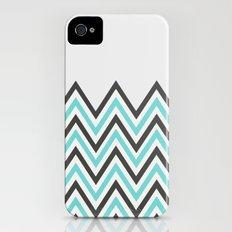 BLUE CHEVRON iPhone (4, 4s) Slim Case
