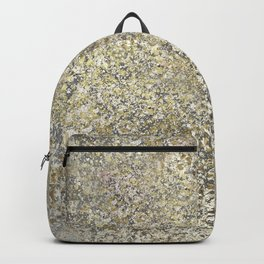 Gold Leaf Crackle Sparkle Backpack