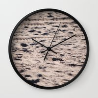 sand Wall Clocks featuring Sand... by I Take Pictures Sometimes