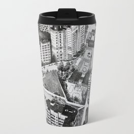 Graphic art, urban, city Travel Mug