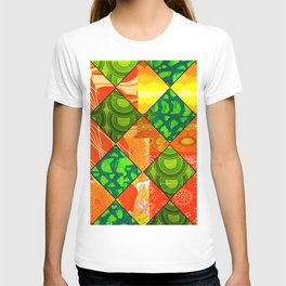 Retro Irish Floral T-shirt