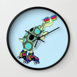 Dylan rainbow glass collection Wall Clock