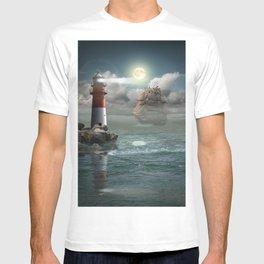 Lighthouse Under Back Light T-shirt