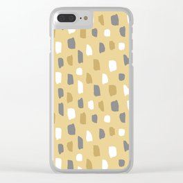 smears Clear iPhone Case
