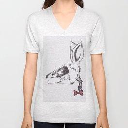 francine the rabbit queen. Unisex V-Neck