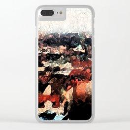 Munchen Clear iPhone Case