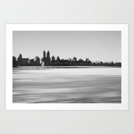 New York Snowscape Art Print
