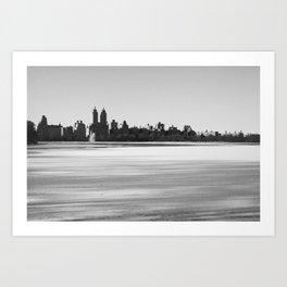 New York Snowscape Art Print