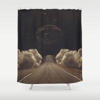 jasmine Shower Curtains featuring 'Jasmine' by Thom Easton