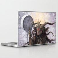 baphomet Laptop & iPad Skins featuring Baphomet by Savannah Horrocks