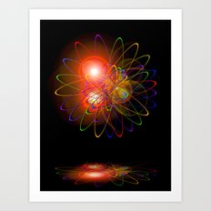 Magical Light and Energy 3 Art Print
