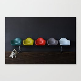 Vitra dog Canvas Print