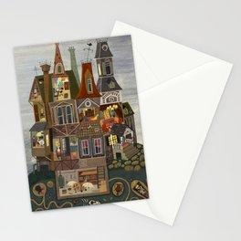 House with many secrets Stationery Cards