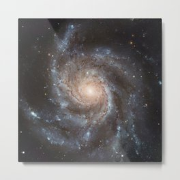 Messier 77 Spiral Galaxy  Metal Print