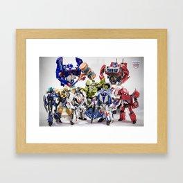 The Autobot Crew Framed Art Print