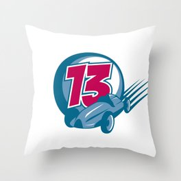 13 Throw Pillow