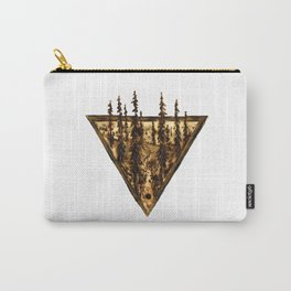 Wood Burn #2 Carry-All Pouch