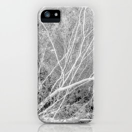 Incandescence bw inv iPhone Case