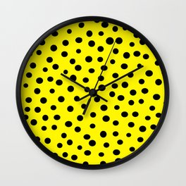 Queen of Polka Dots Wall Clock