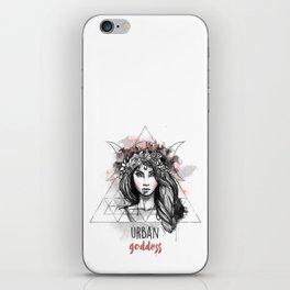 Urban Goddess iPhone Skin