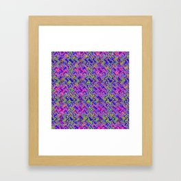 Polyp Blue - Coral Reef Series 017 Framed Art Print