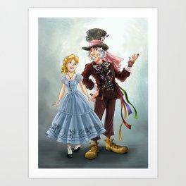 Costume Switch Art Print