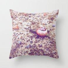 Escargot Throw Pillow