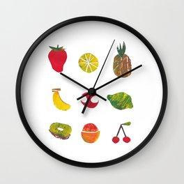 Fruits!! Wall Clock