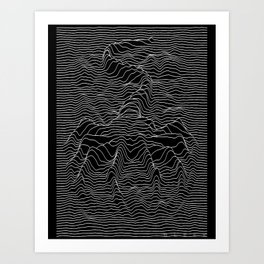 Unknown Hugger Art Print