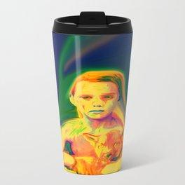 Wolf Boy Metal Travel Mug
