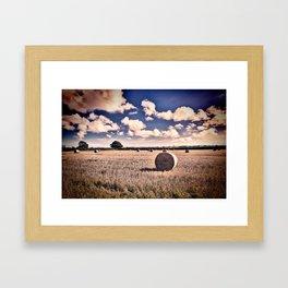 Baled Out Framed Art Print