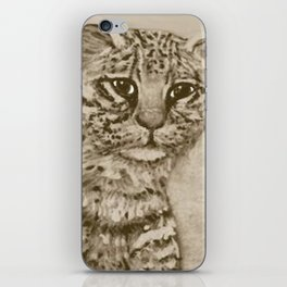 Ocelot Watching, by Ave Hurley iPhone Skin