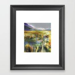 Approaching Rain - Achill Island - Ireland Framed Art Print
