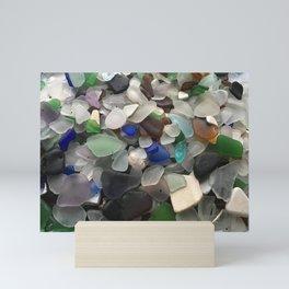 Sea Glass Assortment 1 Mini Art Print