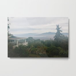View From Upcountry Metal Print