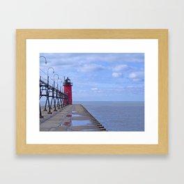 Little Red Light Framed Art Print