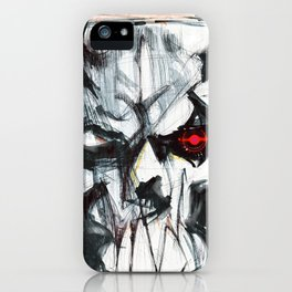 Futuristic Cyborg 4 iPhone Case