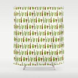 Palo Cactus Shower Curtain