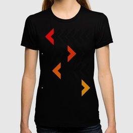 Arrows Graphic Art Design T-shirt