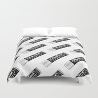 lesbian Duvet Covers featuring CHAPSTICK LESBIAN by Studio 566 / Penny Collins
