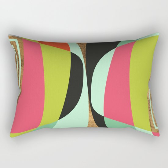 The Best Of Two Worlds Rectangular Pillow