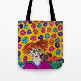 """Tallulah Thought She Had Smashing Taste In Decorating Even If No One Else Liked It"" Tote Bag"